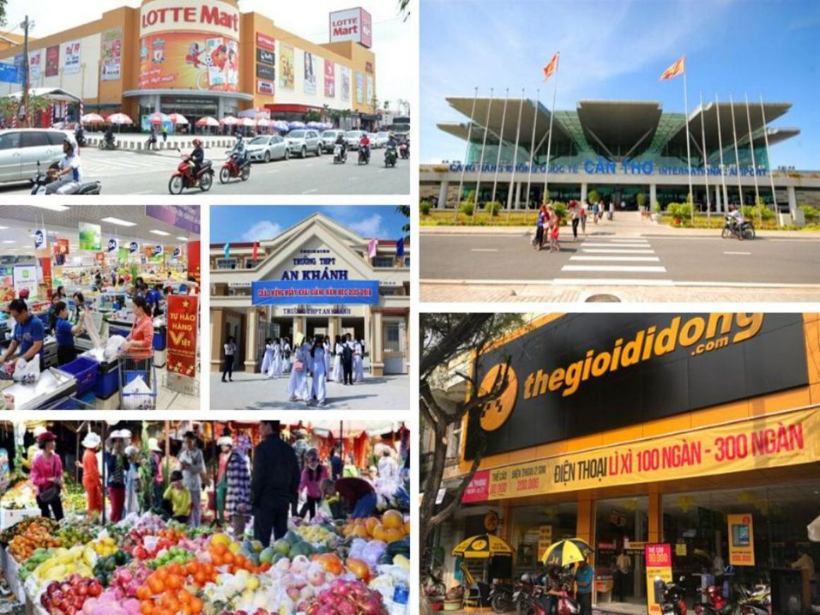 Tiện ích khu Hưng Phú