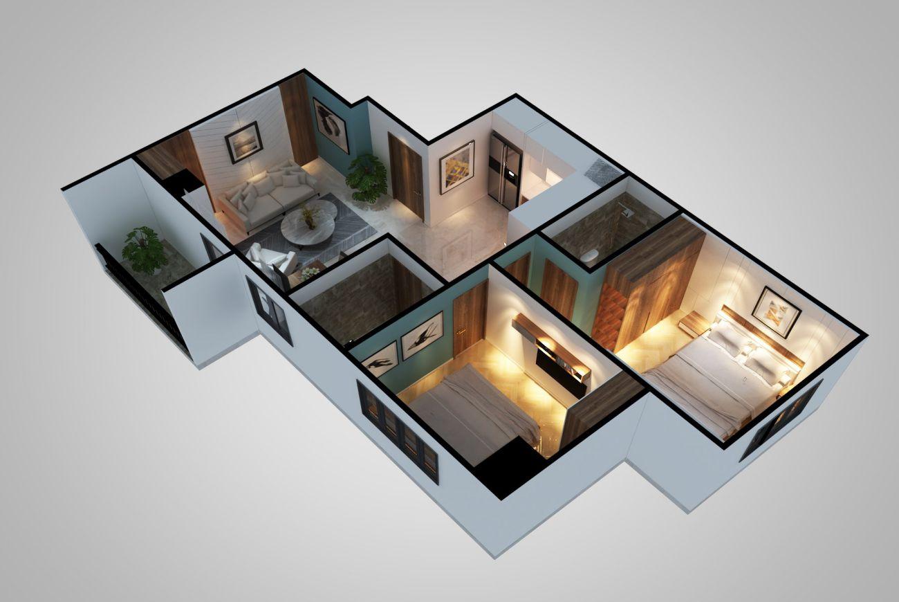 Thiết kế nhà dream house nam long