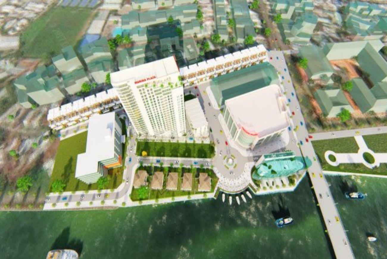 Mặt bằng phân lô của khu Thiên Quân Marina Plaza Cần Thơ