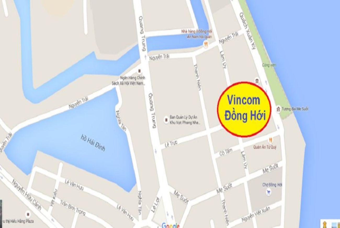 Vị trí Vincom Quảng Bình