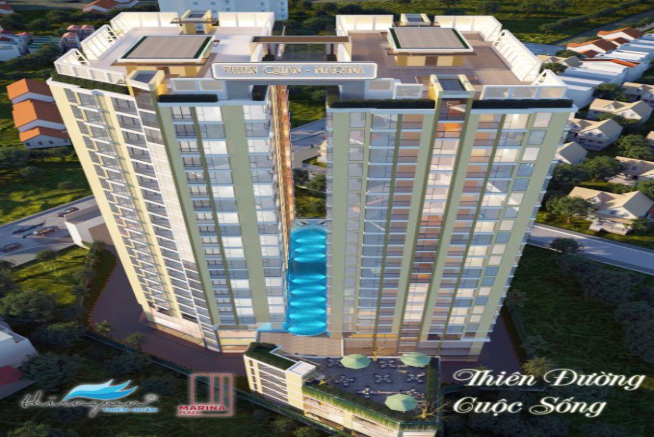 Thiết kế căn hộ Thiên Quân Marina Plaza Cần Thơ