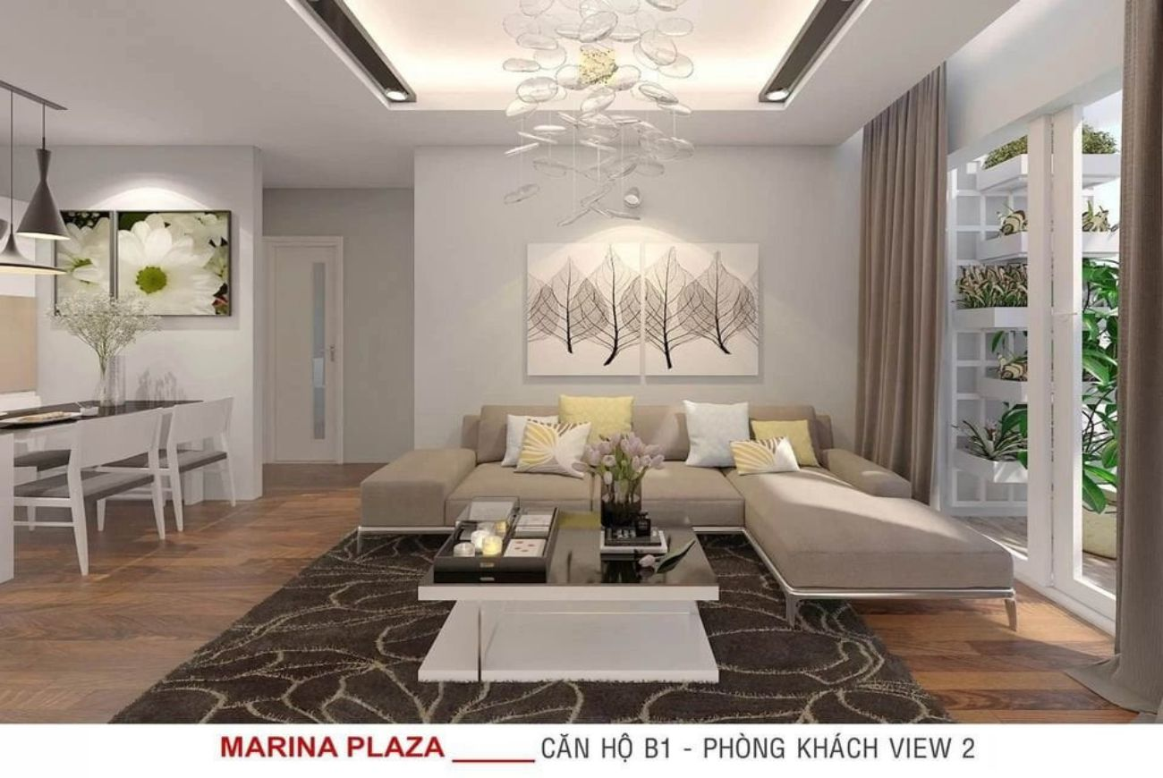 Thiết kế chi tiết các loại căn hộ tại dự án Thiên Quân Marina Plaza