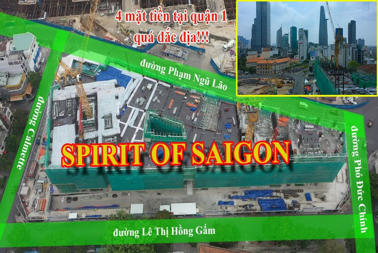 Tiến độ Spirit Of SaiGon