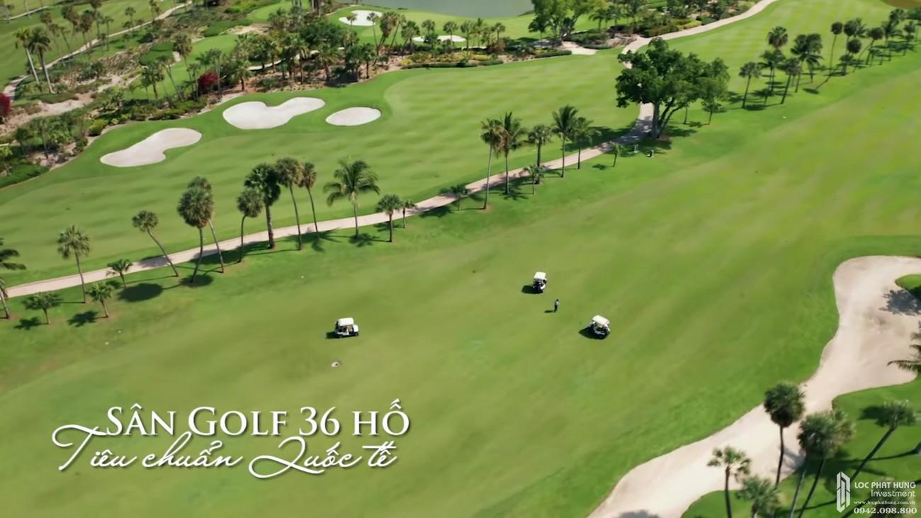 Sân Golf đạt chuẩn quốc tế dự án Resort Sunshine Heritage Mũi Né TP. Phan Thiết chủ đầu tư Sunshine Group