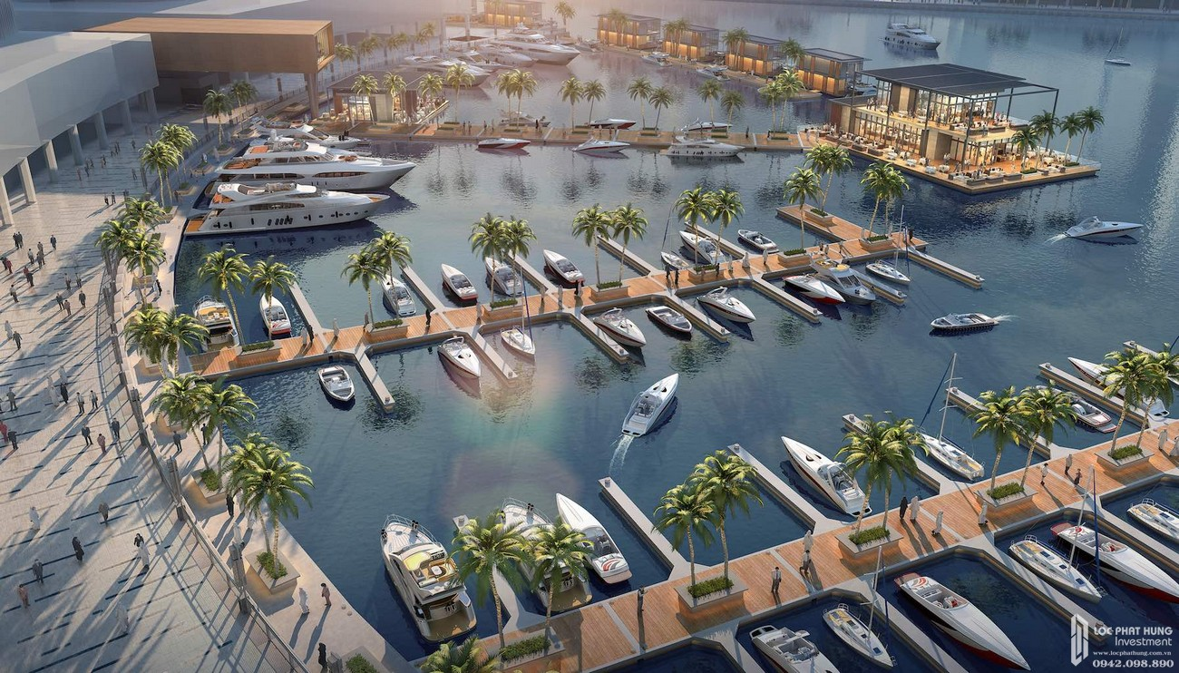 Bến du thuyền dự án Resort Sunshine Heritage Mũi Né TP. Phan Thiết chủ đầu tư Sunshine Group