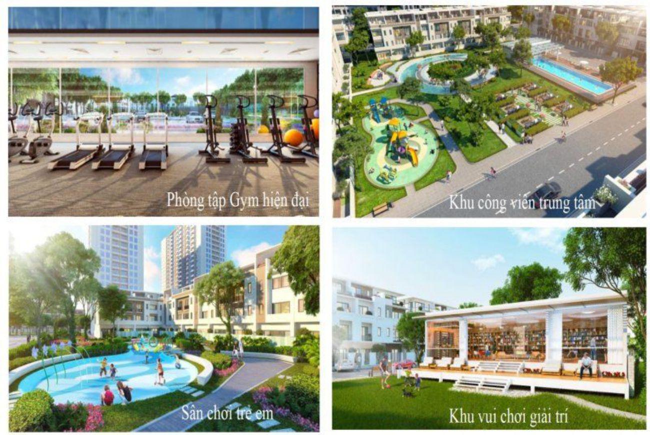 Tiện ích nội khu Golden Hills Đà Nẵng