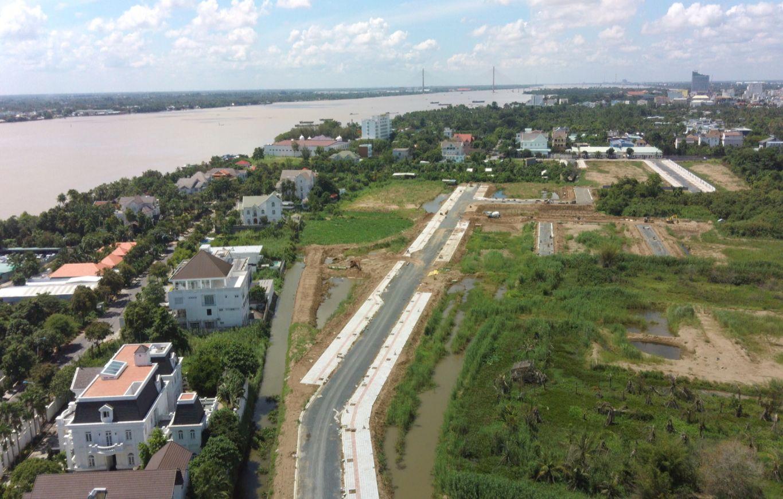 Tiến độ xây dựng tháng 07/2021 tại Cồn Khương Diamond City Cần Thơ