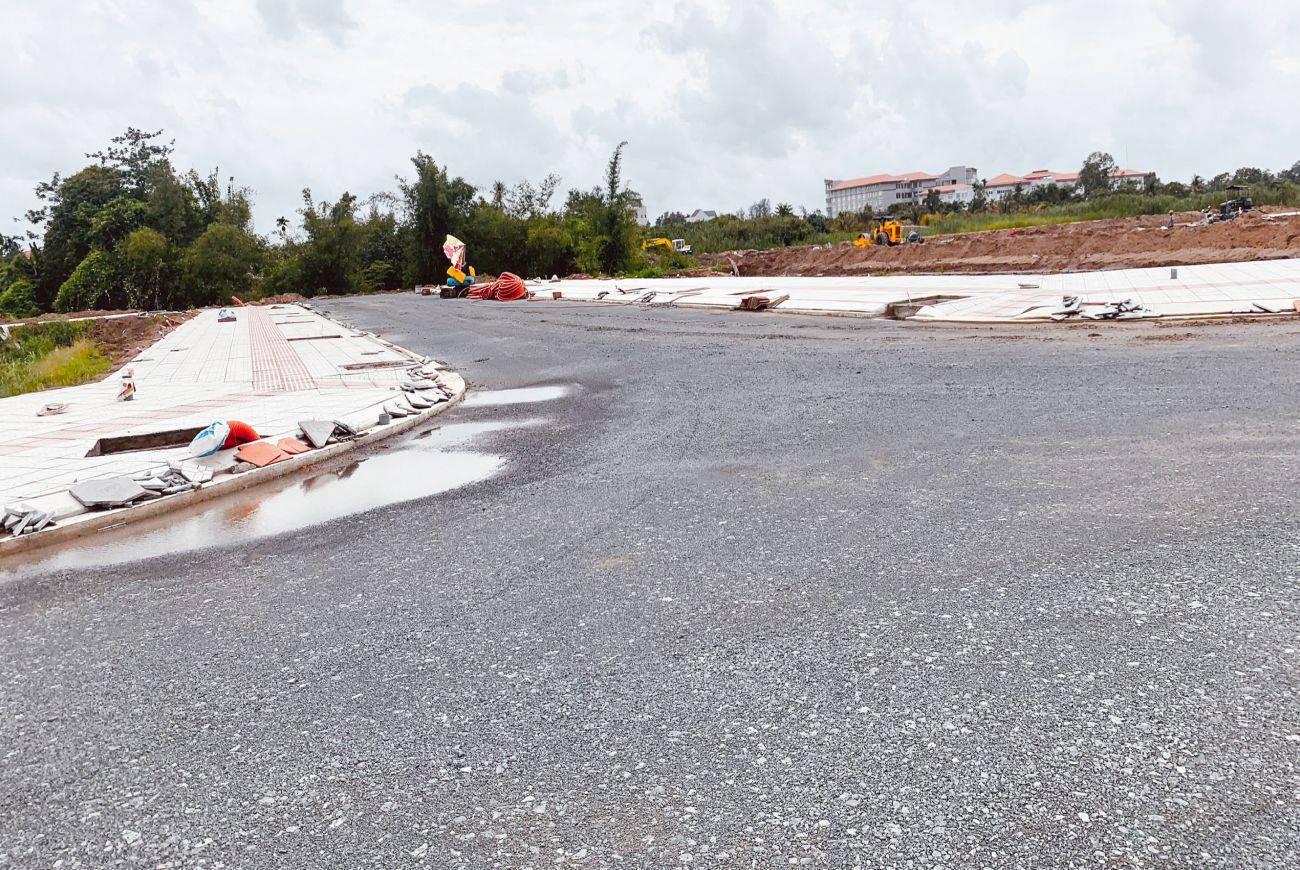 Tiến độ xây dựng tháng 08/2021 tại Cồn Khương Diamond City Cần Thơ