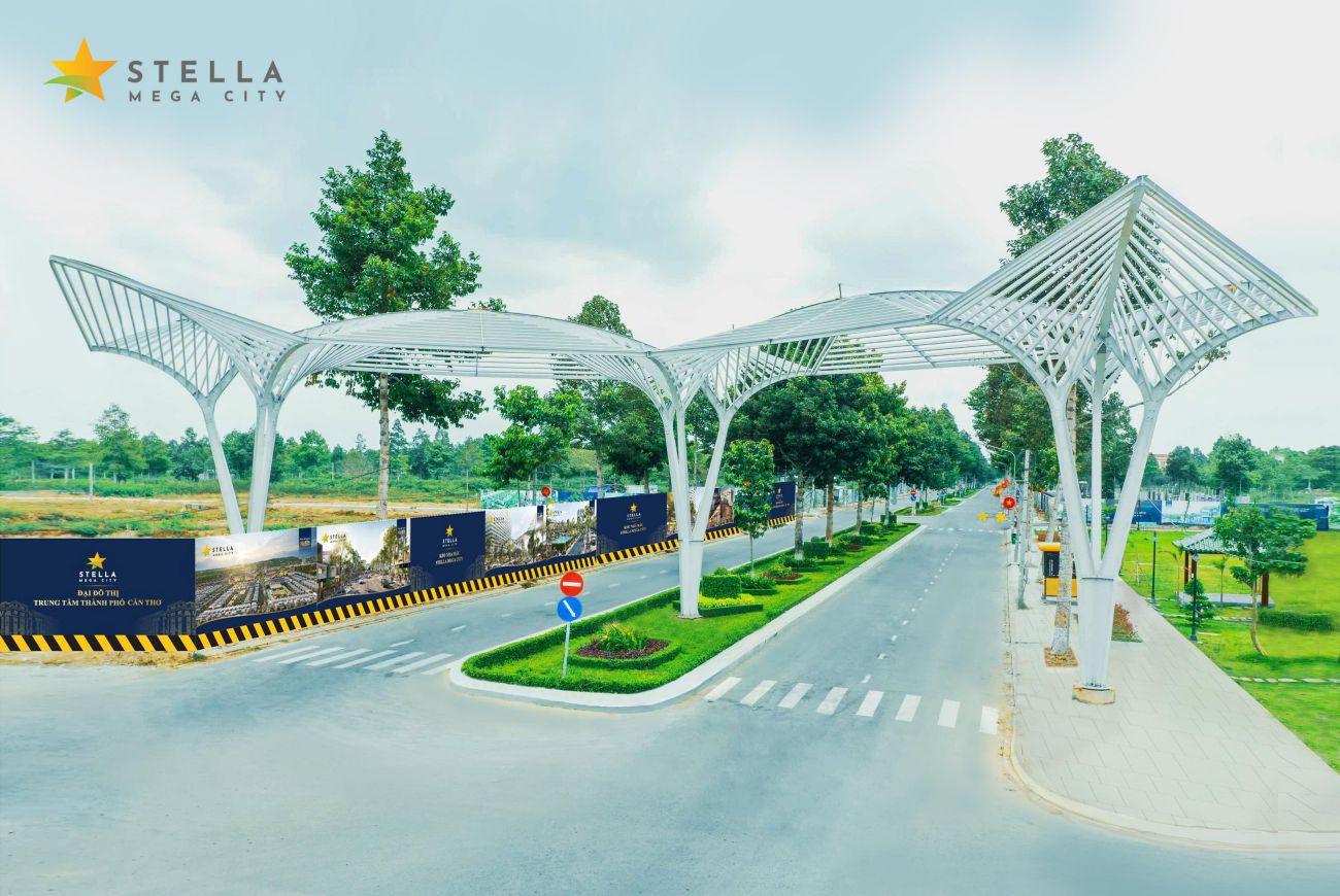 Tiến độ xây dựng Stella Mega City tháng 07/2021