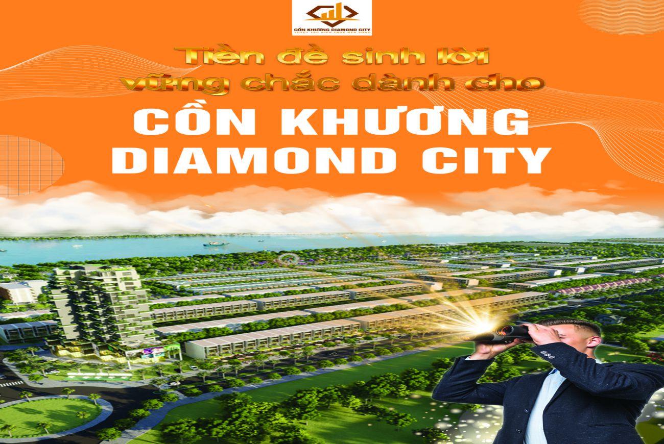 Tiềm năng pháp triển tại Cồn Khương Diamond City Cần Thơ