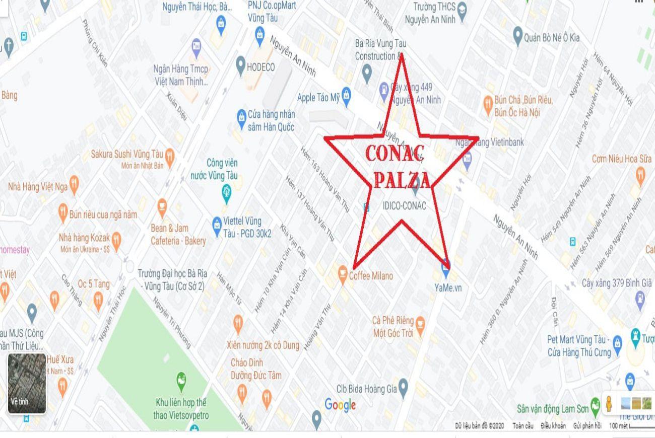 Vị trí Conac Plaza Vũng Tàu