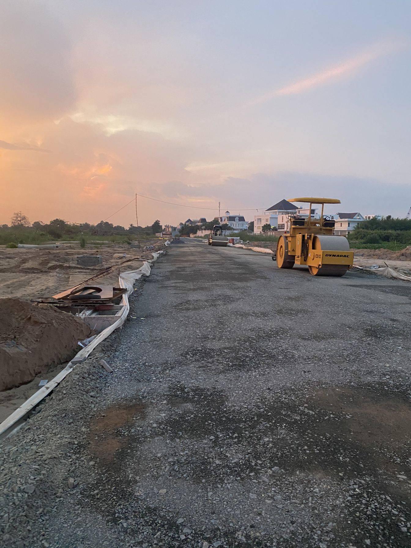 Tiến độ xây dựng dự án Cồn Khương Diamond City Tháng 4/2021