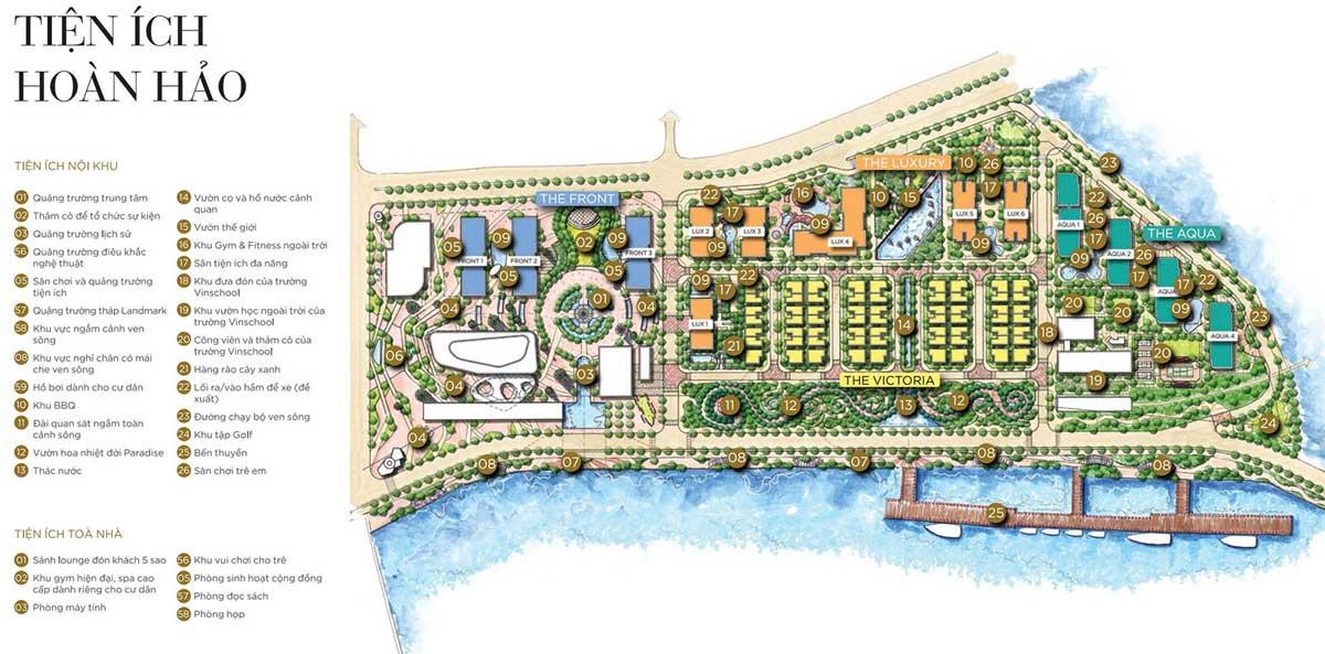 Tiện ích nội khu Masteri Marina One Quận 1