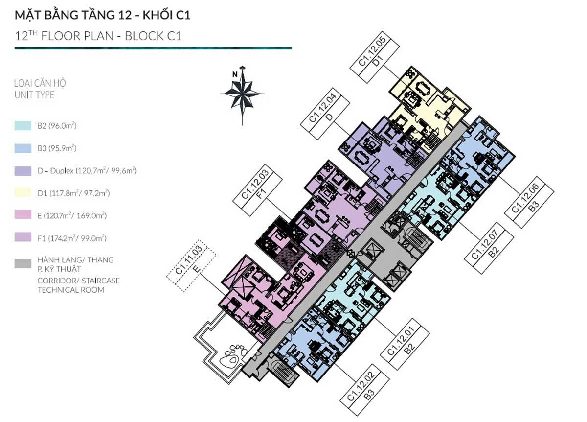 mat bang tang 12 khoi c1 diamond centery