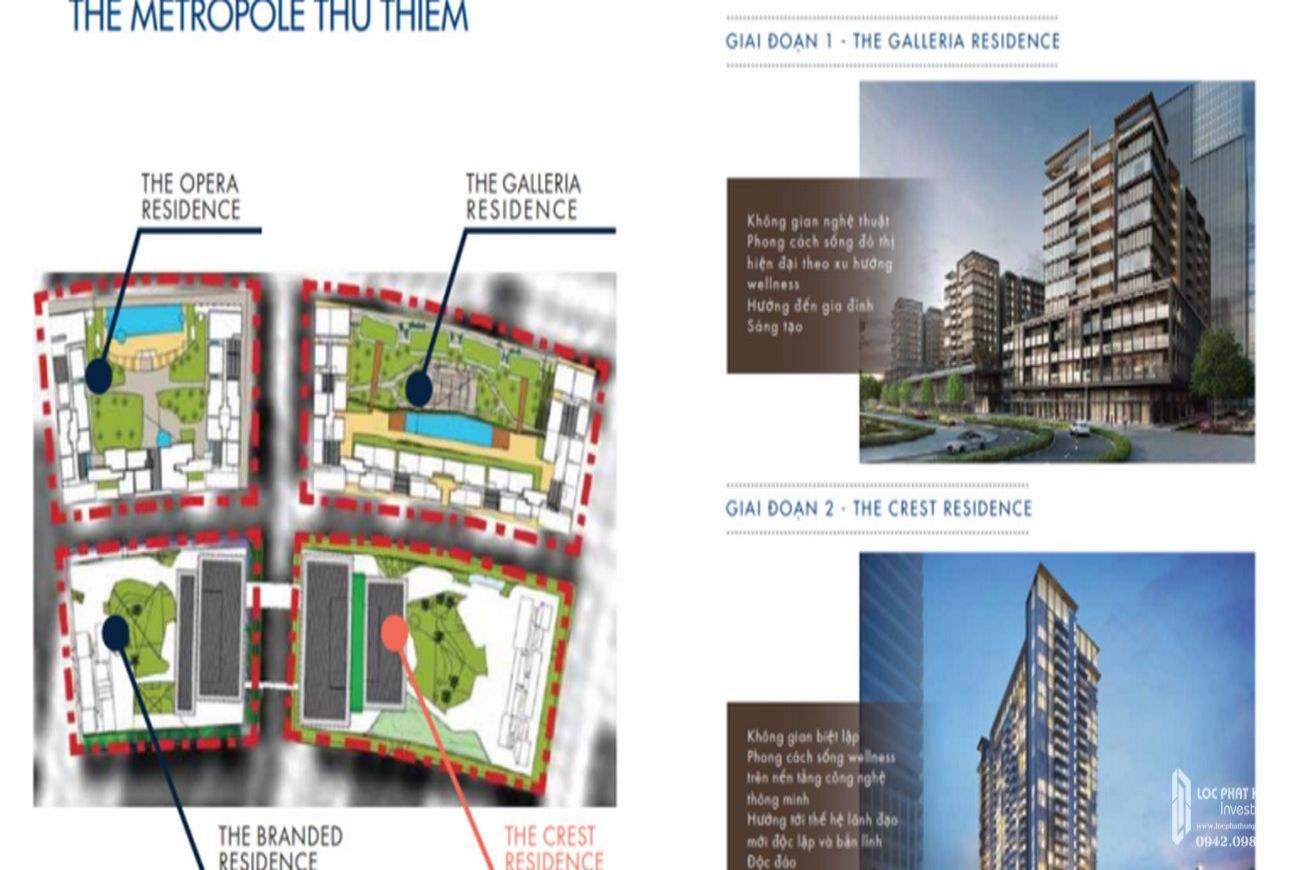 Thiết kế The Crest Residence Quận 2