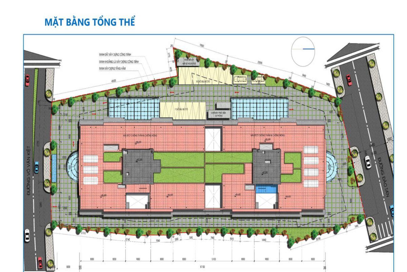 Mặt bằng dự án Tam Đức Plaza Quận 5