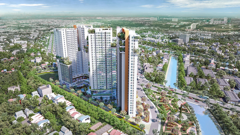 Giới thiệu Aster Garden Towers Bình Dương