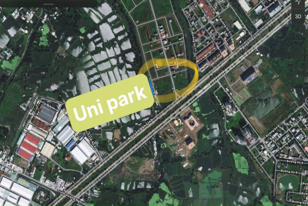 Vị trí Uni Park Luxury Apartment Complex