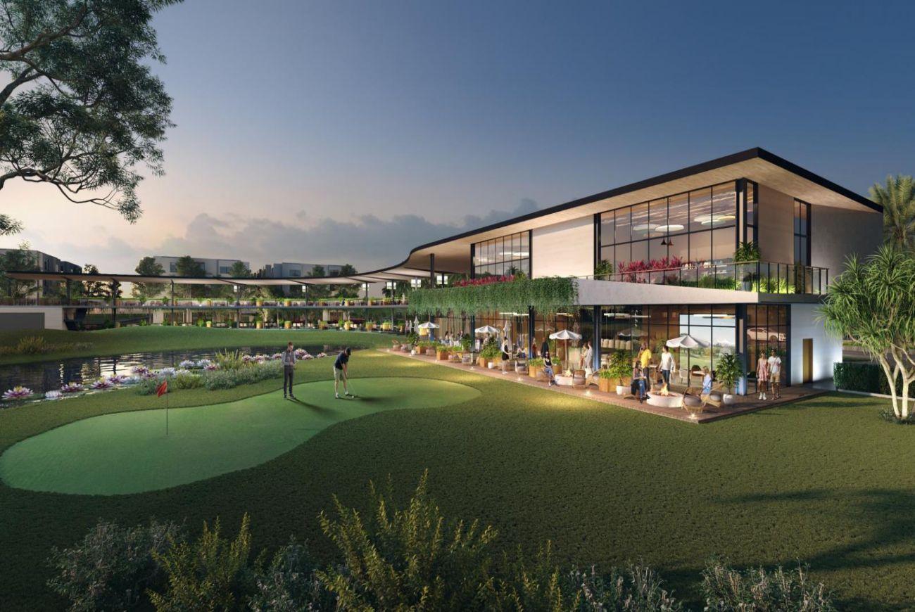Hệ thống sân tập Golf chuẩn Quốc tế tại Stella Mega City
