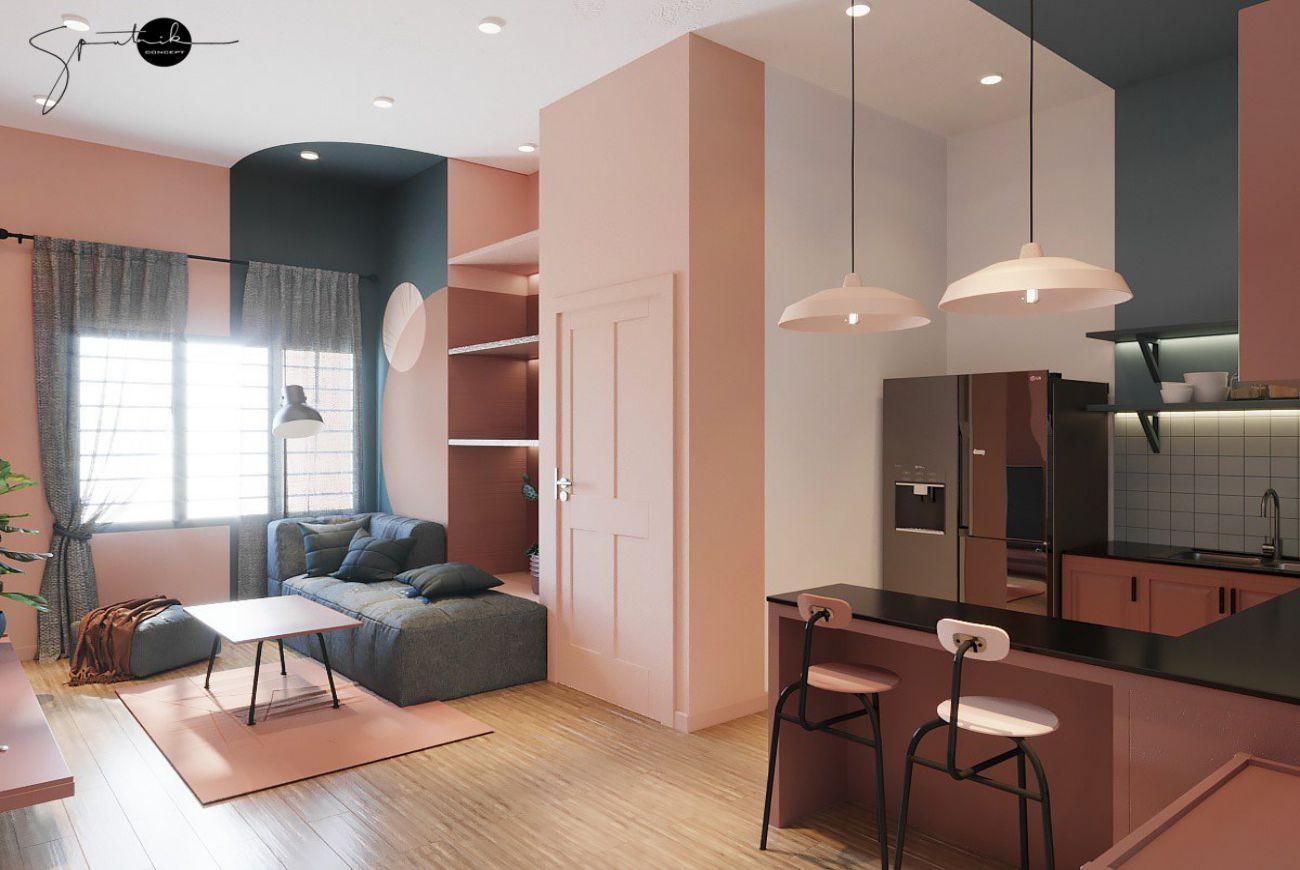 Thiết kế căn hộ Diyas Sky Tân Bình