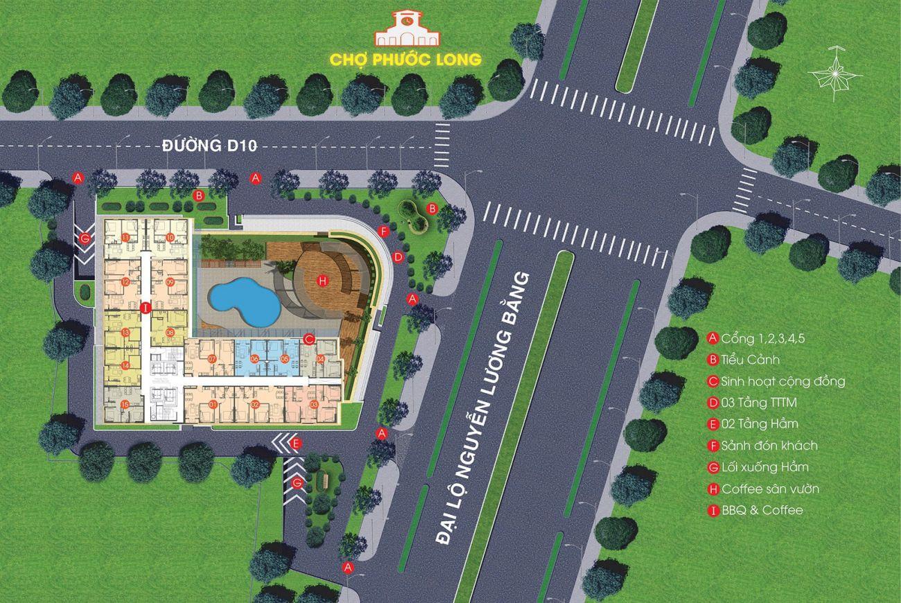 Mặt bằng dự án Viva Plaza Quận 7