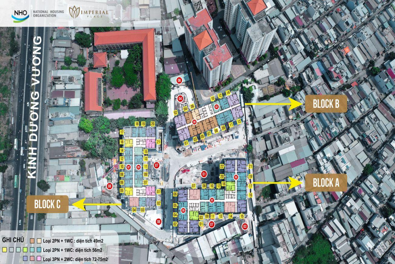 Mặt bằng Imperial Place Bình Tân