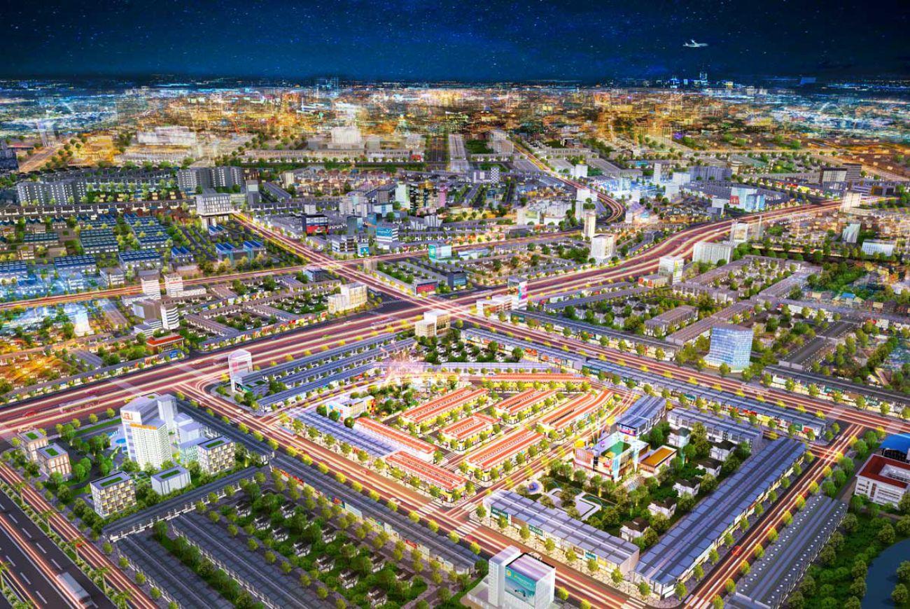 Quy mô Bình Dương Avenue City