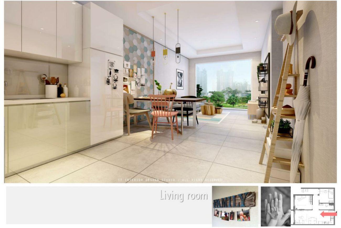 Thiết kế căn hộ Pegasuite 3 Quận 7