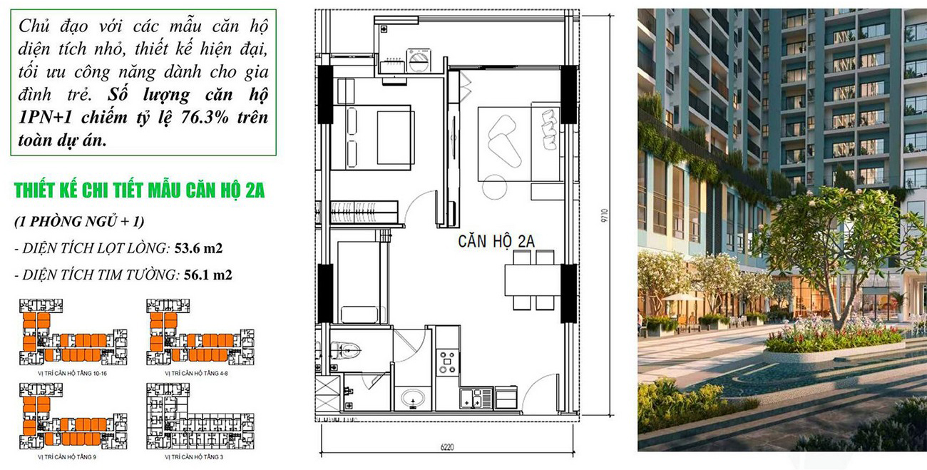 Thiết kế căn hộ MT Eastmark City