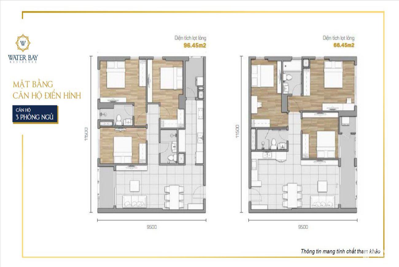 Thiết kế căn hộ Water Bay Quận 2
