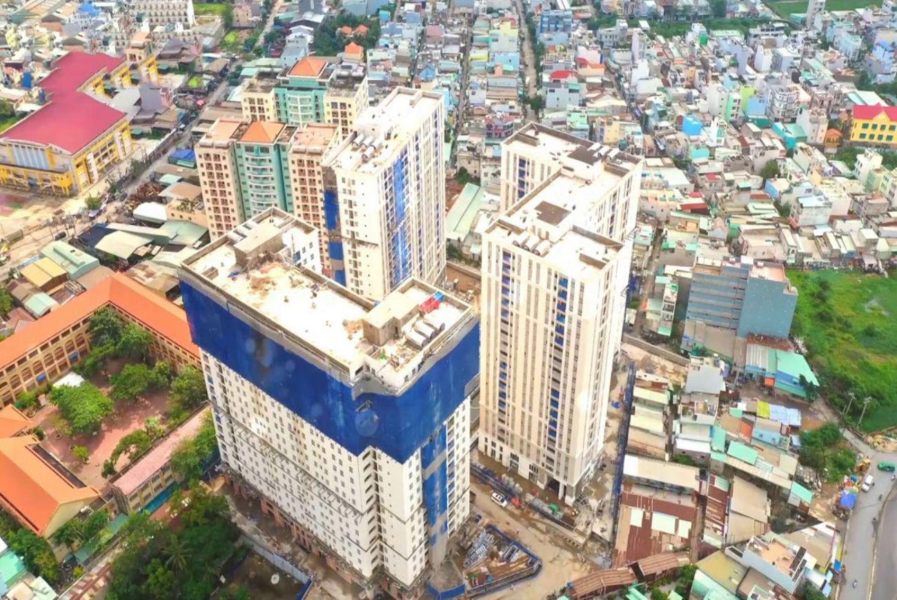 Quy mô Imperial Place Bình Tân