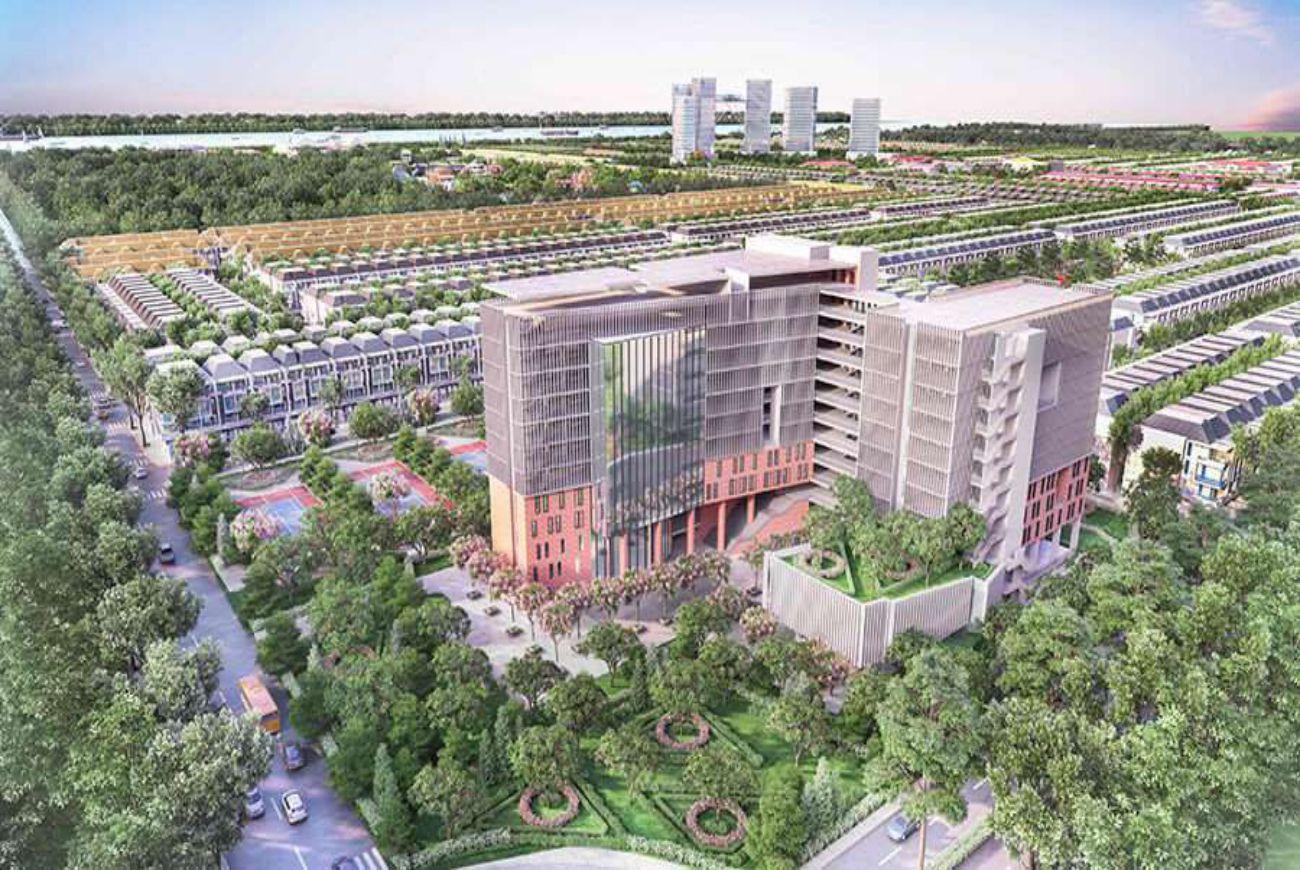 Dự án có tòa nhà trung tâm hội nghị đa chức năng