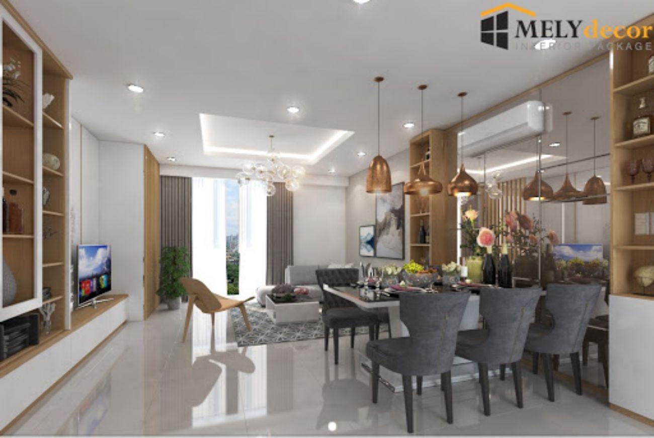 Thiết kế căn hộ Golf View Palace Tân Bình