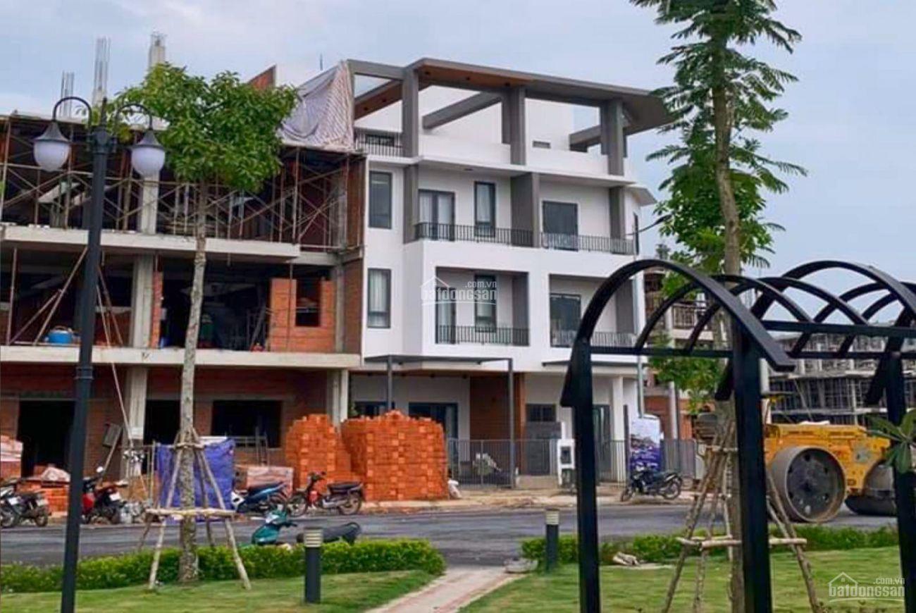 Tiến độ xây dựng nền đất khu Les Maison Bình Chánh