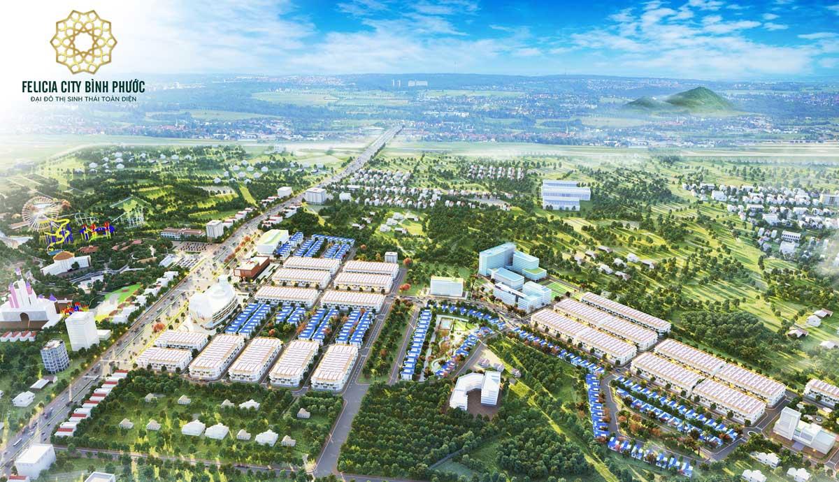 Giới thiệu Felicia City Bình Phước