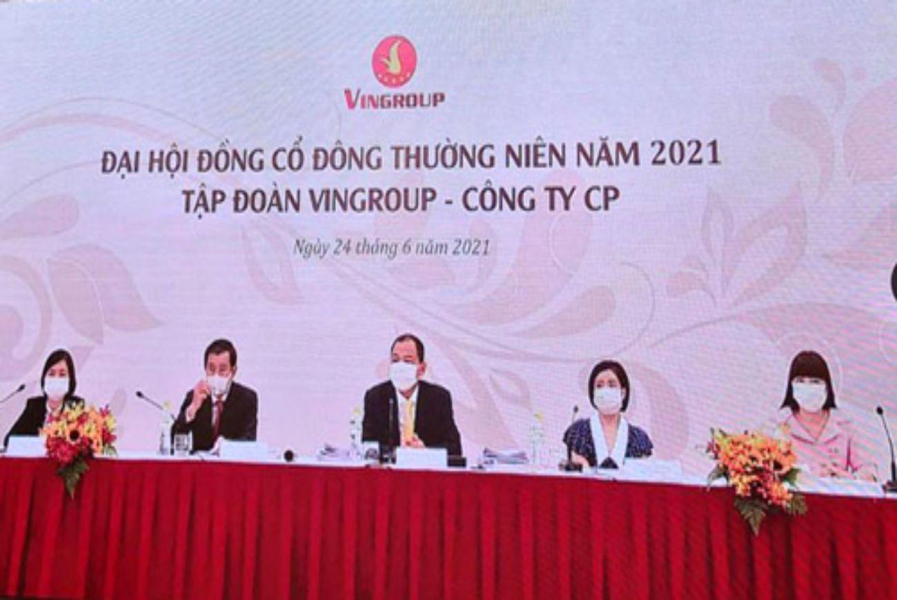 ĐHCĐ Vinhomes: 3 đại dự án tại Đan Phượng, Hưng Yên, Cổ Loa sẽ được tung ra thị trường cuối năm 2021