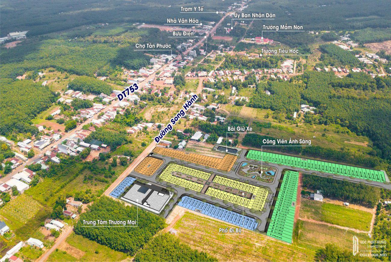 Quy mô Prime City Bình Phước