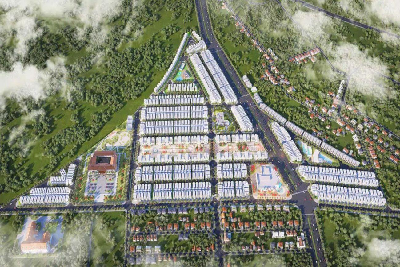 Quy mô Diamond City Lộc Ninh