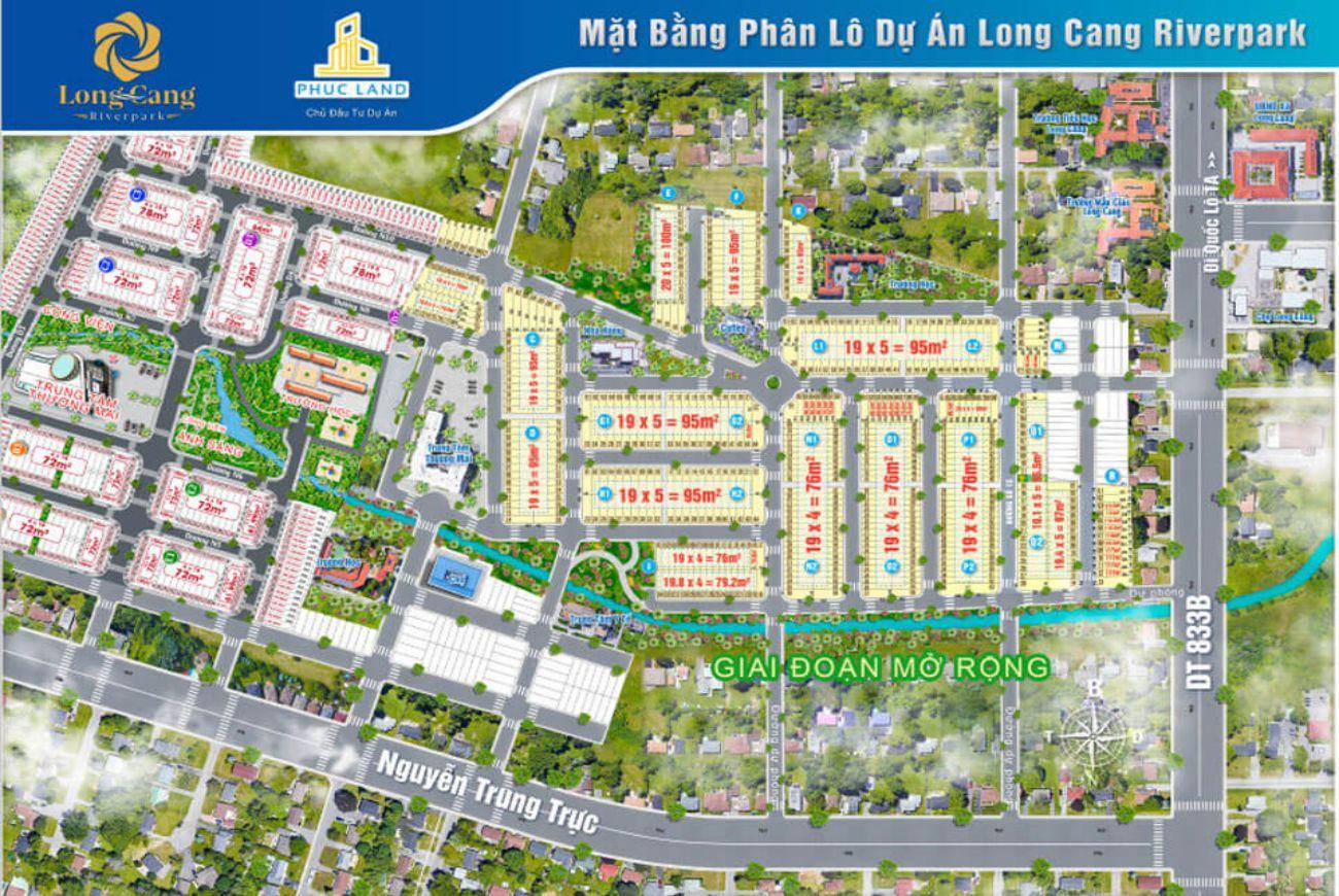 Mặt bằng dự án Long Cang RiverPark