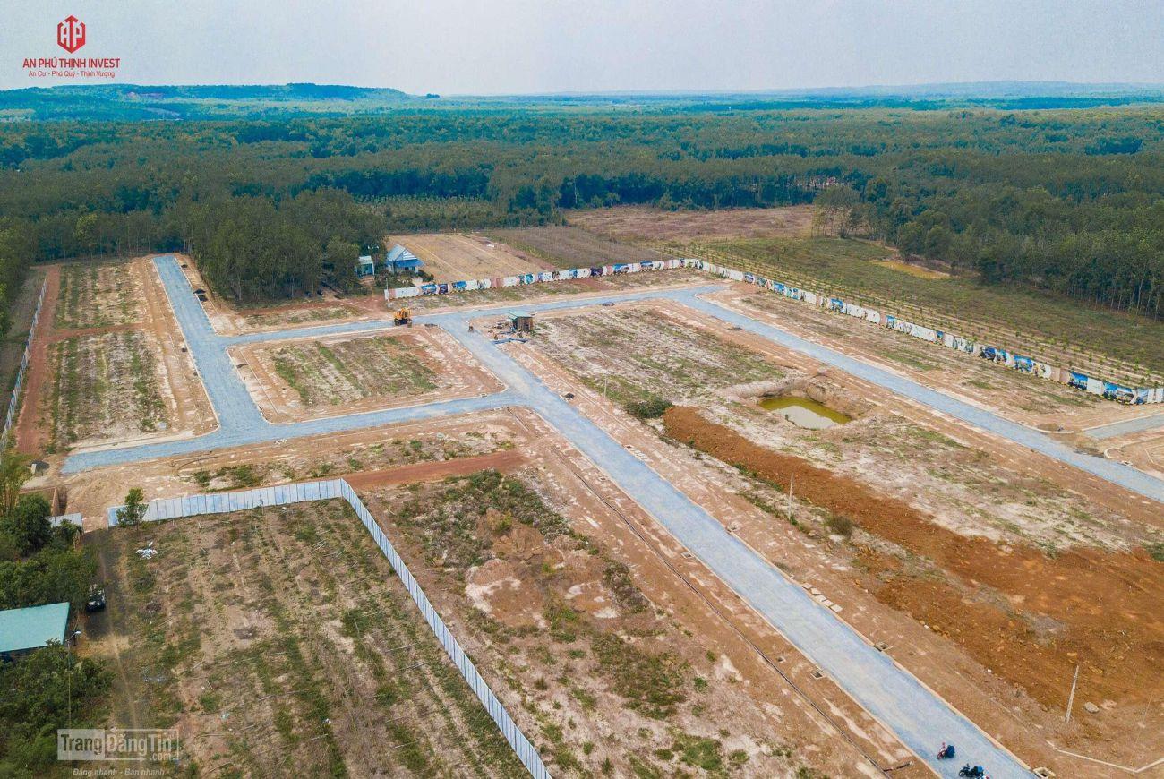 Tiến độ xây dựng nền đất khu Prime City Bình Phước