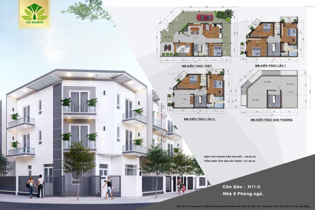 Thiết kế Les Maison Bình Chánh