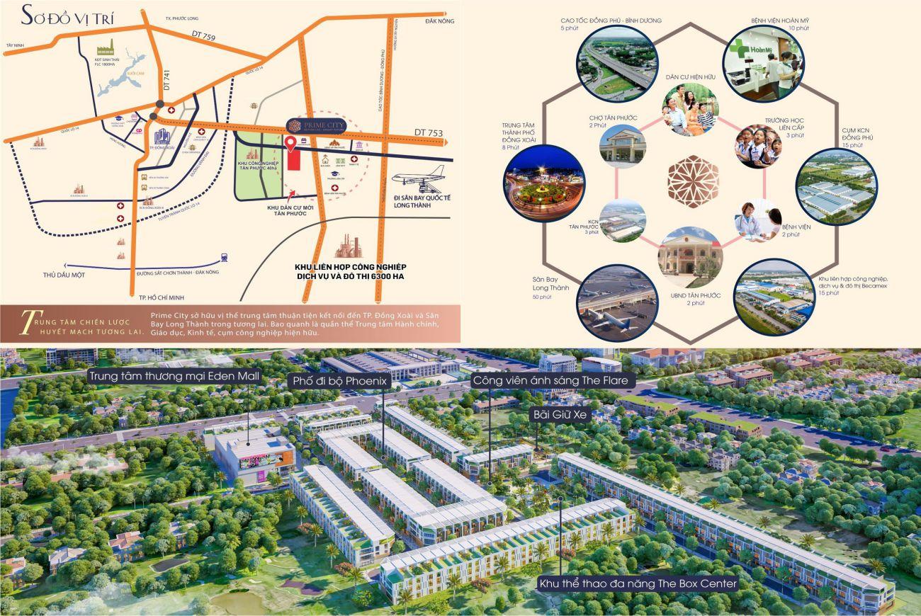 Tiện ích Dự ánPrime City Bình Phước