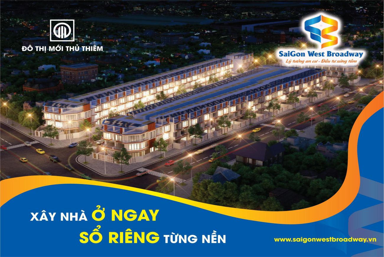 Thiết kế Saigon West Broadway Bình Tân