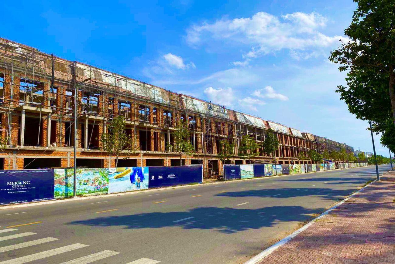 Tiến độ xây dựng khu dân cư Mekong Centre Sóc Trăng