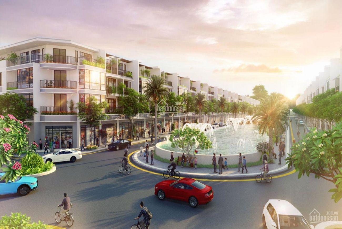 Thiết kế Tân Tạo Shopping Street Long An