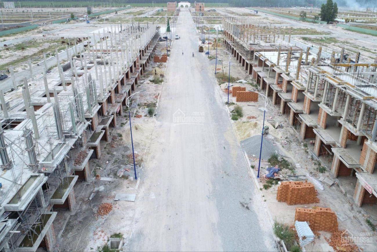 Tiến độ xây dựng khu dân cư Thăng Long Residence Bình Dương