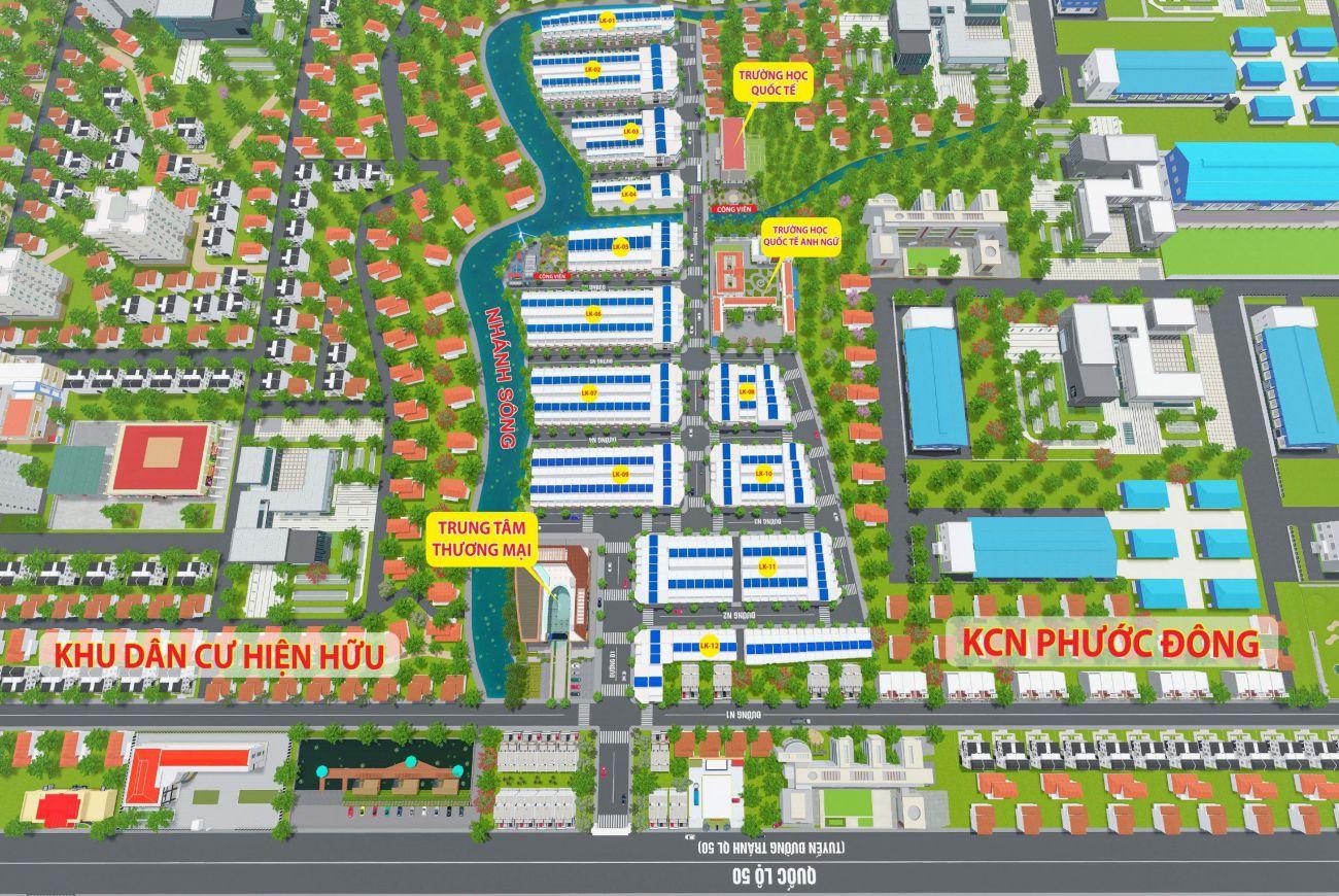 Thông tin chi tiết về Dự án Phước Đông Garden