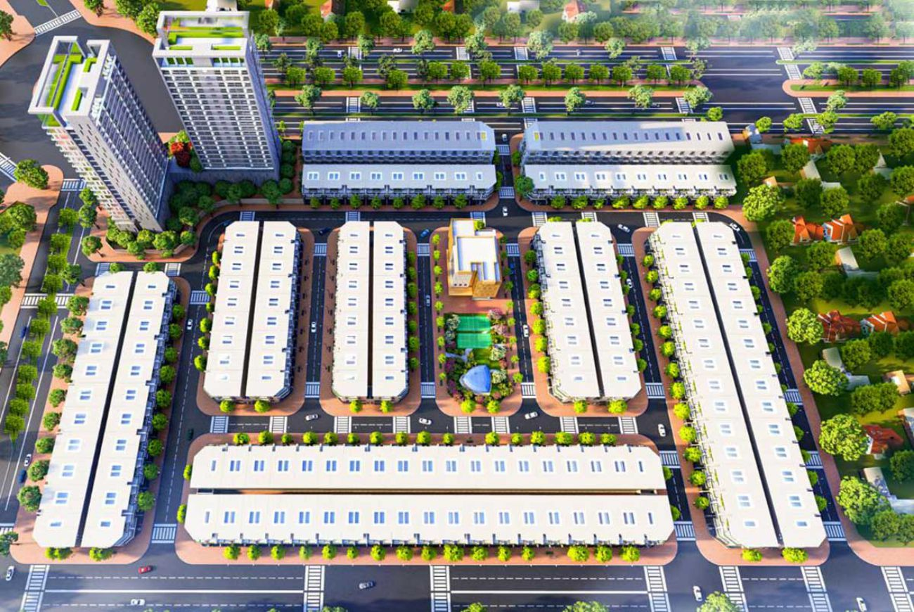 Thông tin chi tiết về Dự án The Centre House Nhơn Trạch