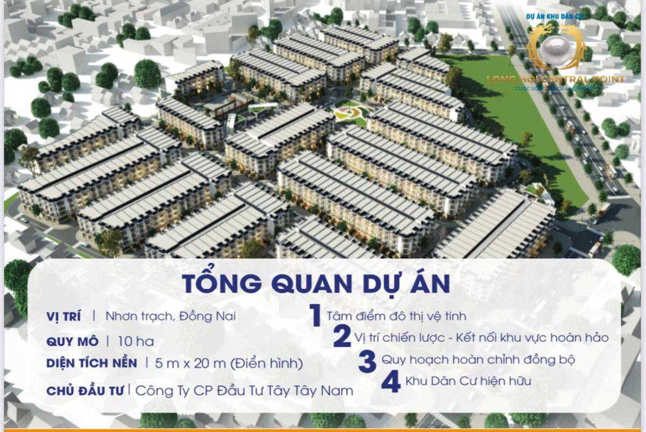 Thông tin chi tiết về Dự án Long Hội Central Point