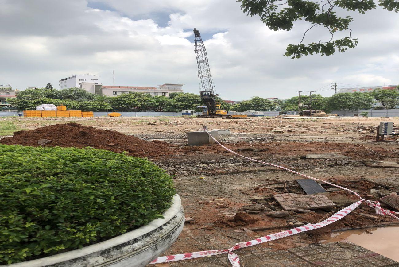 Tiến độ xây dựng Vinhomes Sky Park tháng 08/2021